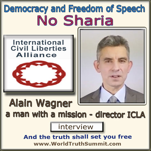 Alain Wagner, ICLA - no Sharia law