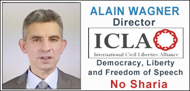 Alain Wagner - International Civil LIberties Alliance, No Sharia