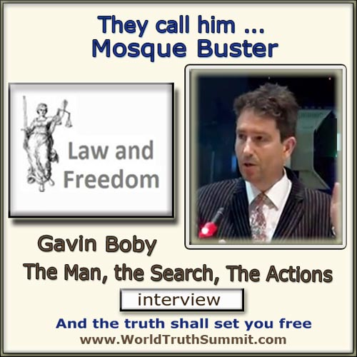 Gavin Boby - Law and Freedom - mosque applications
