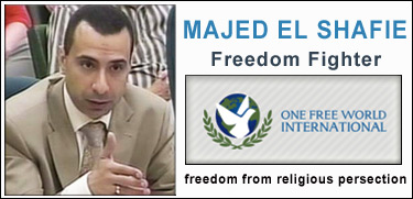 Reverend Majed El Shafie, Human Rights Activist