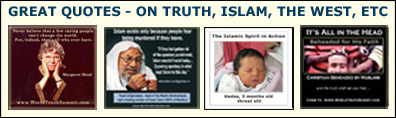 quotes about truth, Islam, Islamic beliefs, the West
